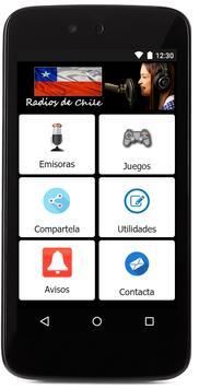 Radios de Chile screenshot 1