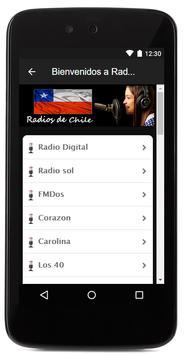 Radios de Chile apk screenshot