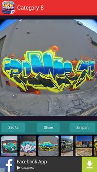 Graffiti Art Wallpapers Theme apk screenshot