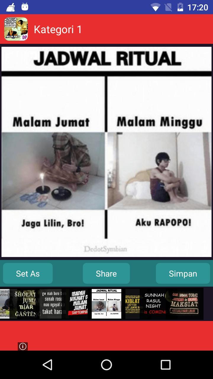 DP Malam Jumat For Android APK Download