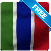 Gambia flag lwp Free icon