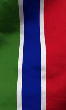 Gambia flag lwp Free apk screenshot