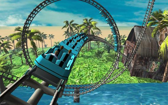 Jurassic Jungle Roller Coaster apk screenshot
