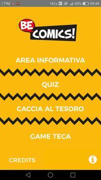 BeComics 2017 Padova poster