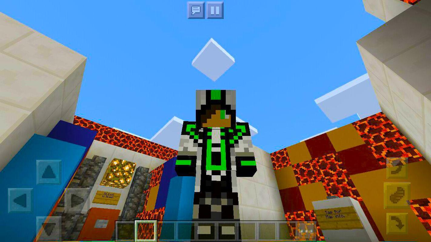 Skins Pack Cool Parkour For MCPE Adventure Para Android APK Baixar - Coole skins fur minecraft pe