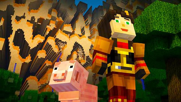 """Skins pack """"Girls"""" for MCPE! poster"""