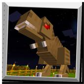 T-Rex dinosaur – mod for Minecraft icon