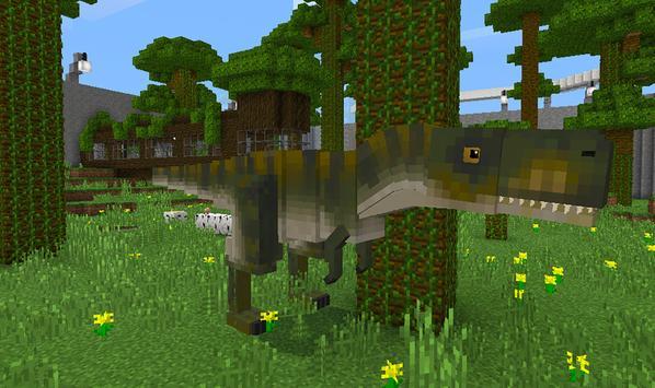 T-Rex dinosaur – mod for Minecraft screenshot 6