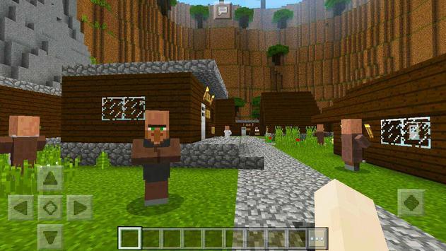 Simple Adventure MCPE  map apk screenshot