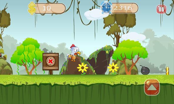 chicken run escape apk screenshot