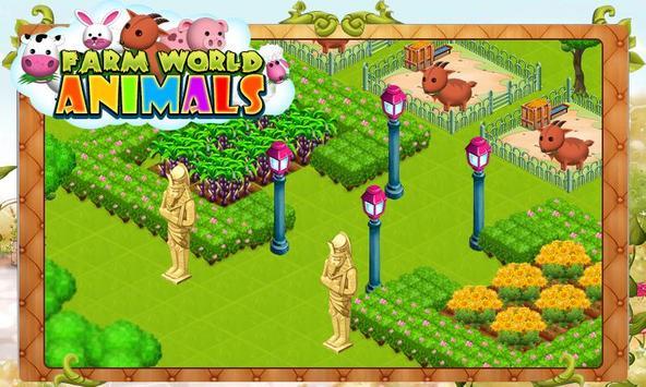 Farm World Animals poster