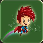 Jumpy boy icon