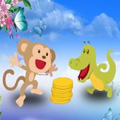 Monkey Get a Banana icon
