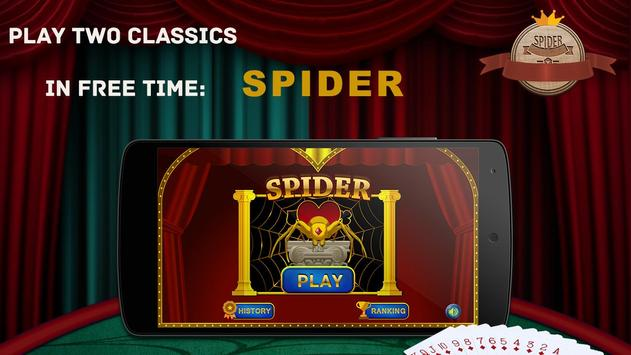 Spider Solitaire poster