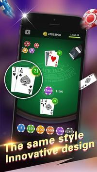 Blackjack 21 Pro screenshot 1