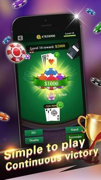 Blackjack 21 Pro screenshot 2