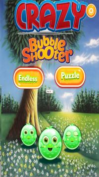 Crazy Bubble Shooter poster