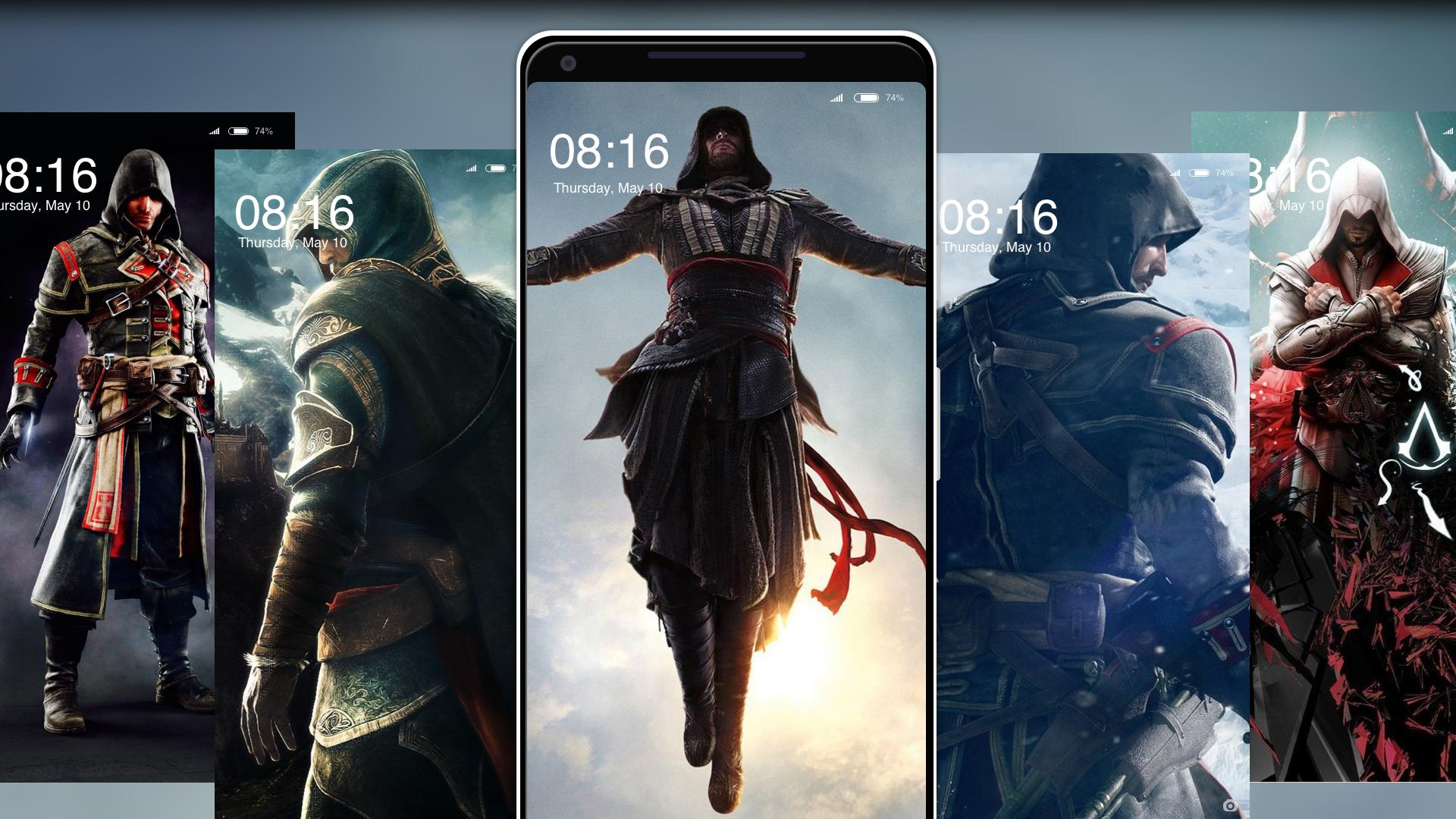 Assassin's creed wallpapers for fans for android apk download.