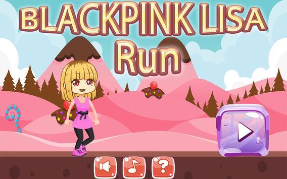 BlackPink Adventure Lisa poster