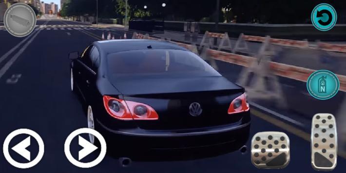 Real Passat Car Parking Simulation 2019 screenshot 1