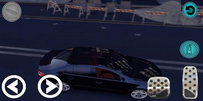 City Passat Car Parking Game Simulation 2019 screenshot 2