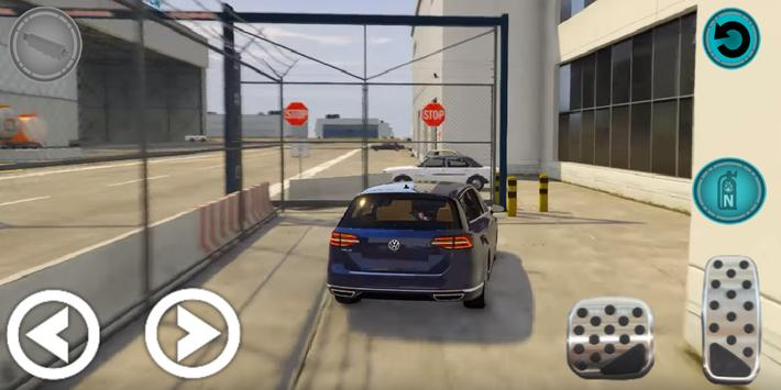 City Passat Car Parking Game Simulation 2019 screenshot 6