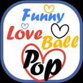 Funny Love Ball Pop icon
