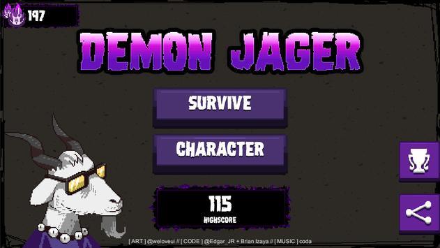 Demon Jager ( Demon Hunter ) poster