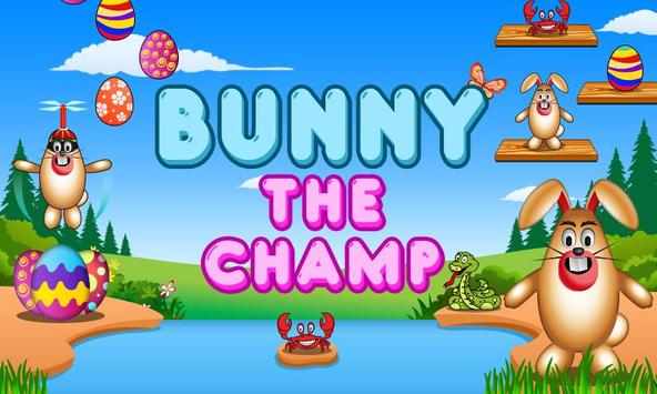 Bunny The Champ poster