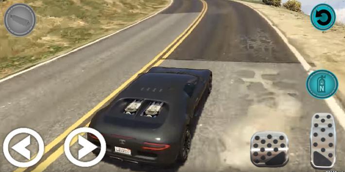 Car in Racing 2019 3D poster