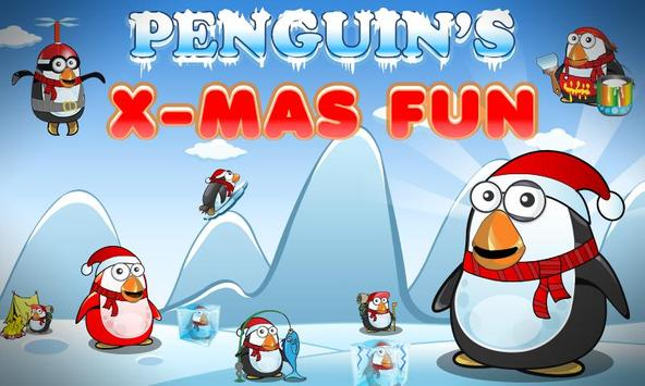 Penguin's Xmas Fun - The Christmas Game poster