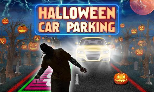 Halloween Car Parking poster