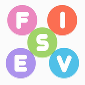 Fives - Simplest Word Search icon
