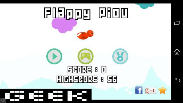 Flappy Piou screenshot 5