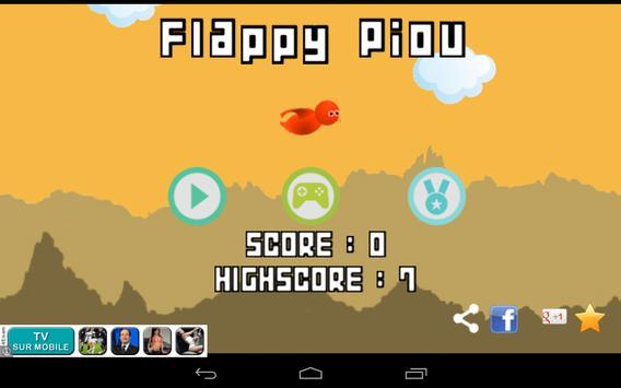 Flappy Piou screenshot 8