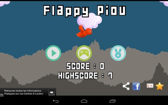 Flappy Piou screenshot 9