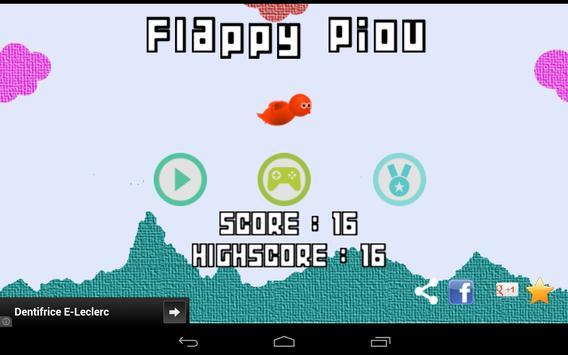 Flappy Piou screenshot 13