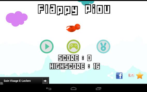 Flappy Piou screenshot 11