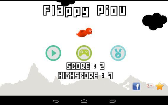 Flappy Piou screenshot 12