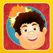 Exploding Fat Heads Lite-Game icon