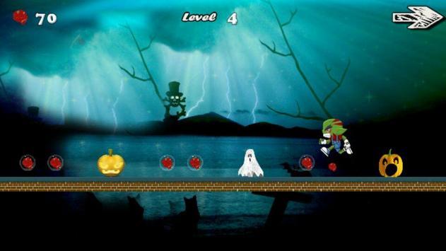 Halloween Zombie Run apk screenshot