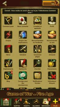 Cheats Game of War - Fire Age apk screenshot
