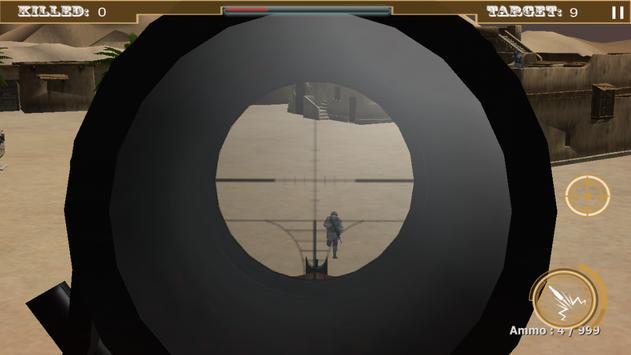 Sniper Commando Shooting 2016 apk screenshot