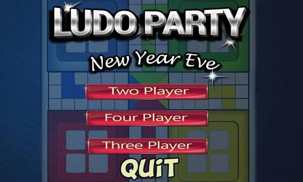 Ludo Party New Year Eve poster