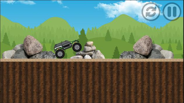 Monster Truck Crazy Adventure apk screenshot