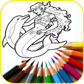 Mewarnai Putri Duyung icon