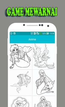 Mewarnai Putri Duyung apk screenshot