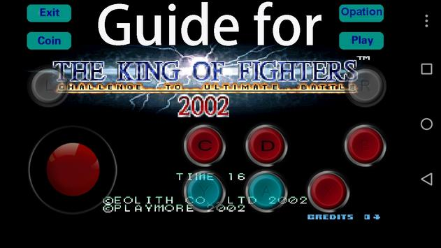 Guide for King of Fighter 2002 Poster
