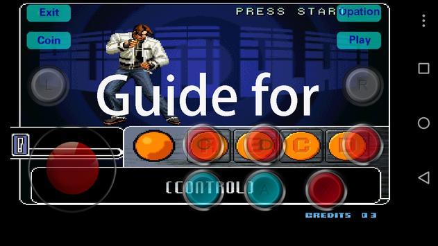 Guide for King of Fighter 2002 captura de pantalla de la apk