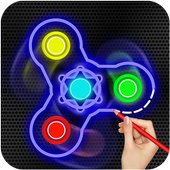 Fidget Spinner : Draw And Spin icon